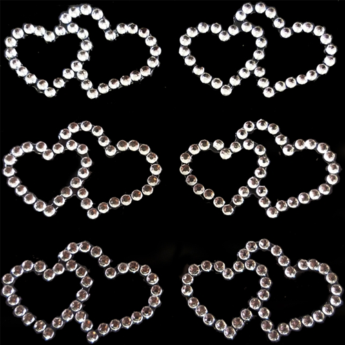 6-Double-Hearts-Silver-Vajazzle-Kit