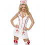 Hot-Fever-Naughty-Nurse-Halter-Neck-Dress