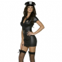 Hot-Ladies-Tight-Cop-Dress-with-Hat